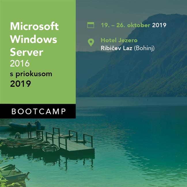 Bootcamp Windows Server 2016 s priokusom 2019