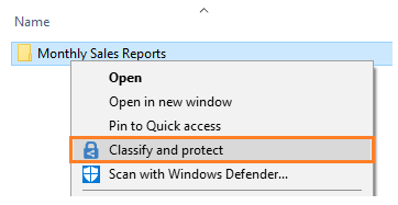 Slika 2:Konfiguracija šifranta v Windows File Explorer